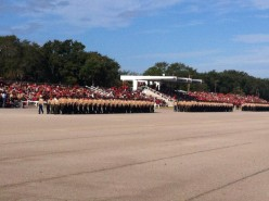 Marine Boot camp at Parris Island, South Carolina