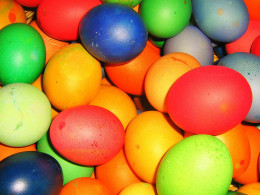 Ordinary Easter eggs
