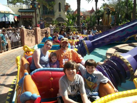 All the kids had a blast!