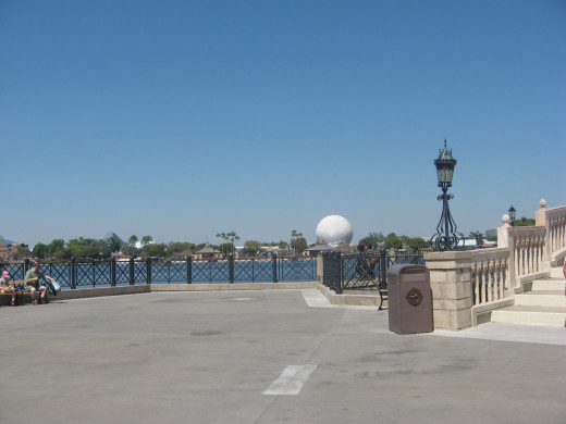 lake at Epcot