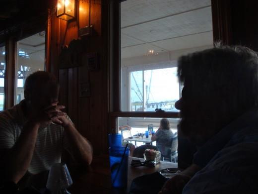 Inside the 11th Street Dockside Restaurant