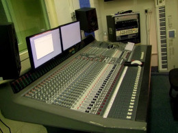 Tilly Youth Project's music studio