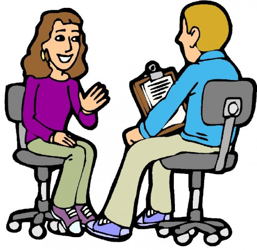 Practice interview with your friends or relatives