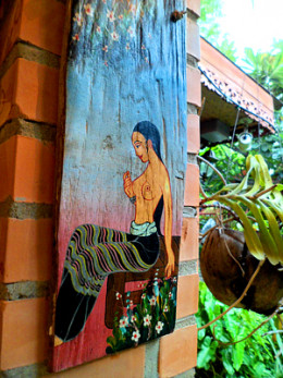 Garden artworks at Blue Diamond