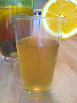 Citrus Ginger and Mint Iced Green Tea Recipe