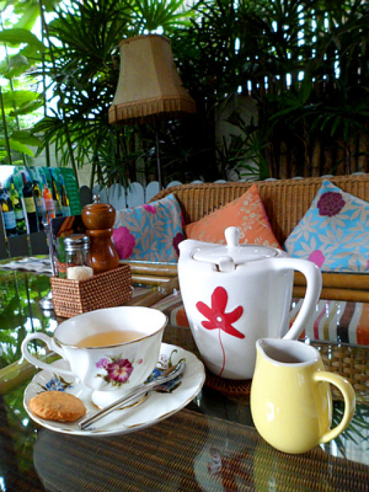 Teatime at Ginger & Kafe