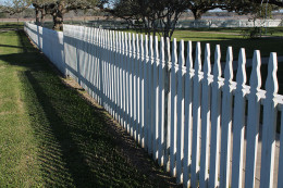 Picket Fence in a historical landmark home