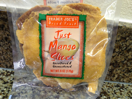 Unsweetened Dried Mango
