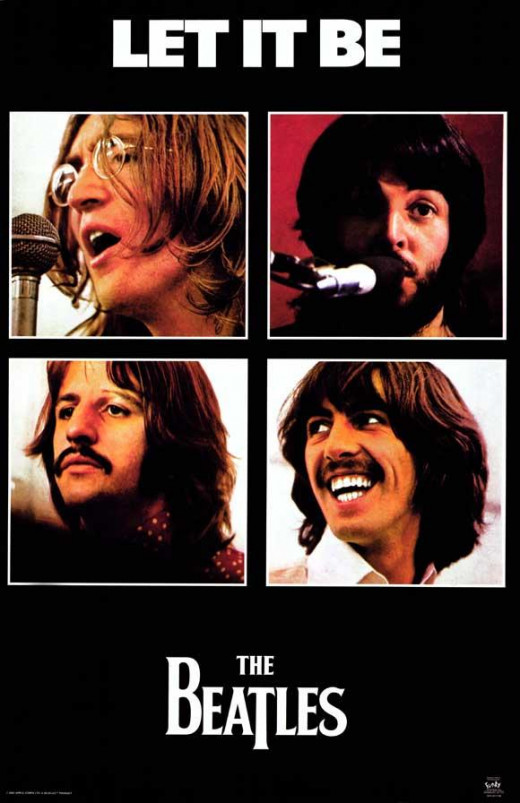 "The Beatles ""Let it Be"" Theatrical Poster"