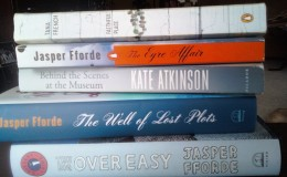 These three authors stay on my bookshelves for future re-readings and loaning out.