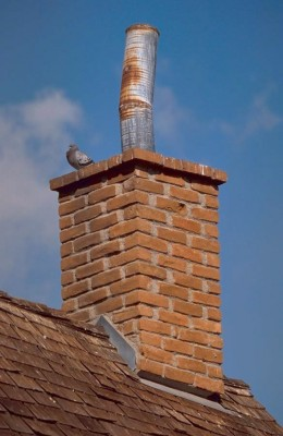 Nor is this the kind of chimney we are dealing with, either...