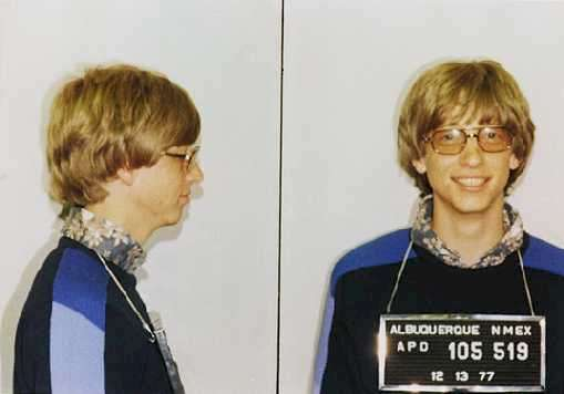 Well-known photo of Bill Gates
