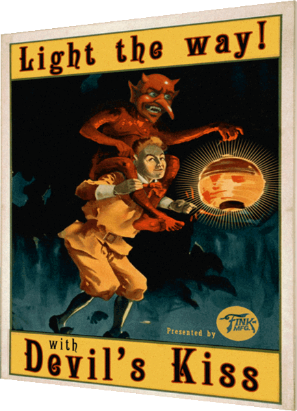 Lithograph poster