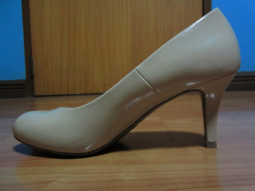 Nude Pumps from Payless