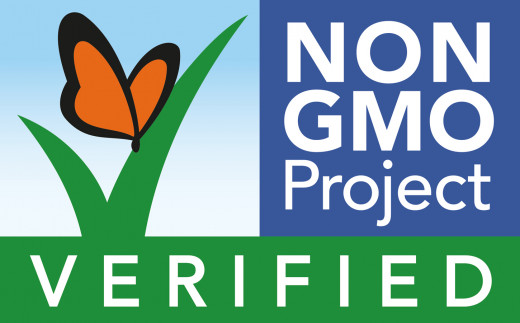 Look for this on your food to know for sure it is 100% free of GMOs!