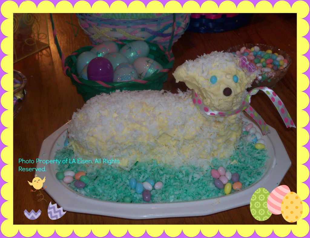 How To Make A Lamb Cake for Easter