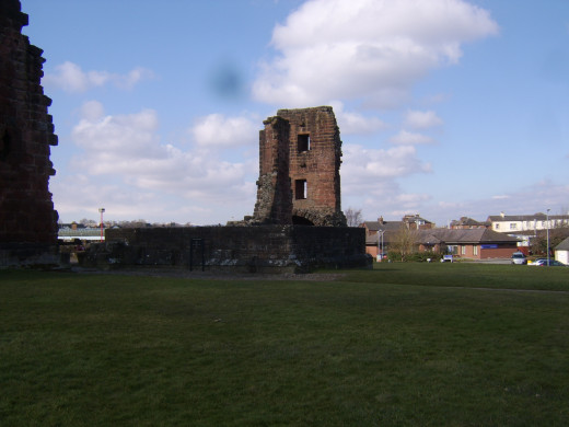 The Red Tower at Penrith Castle is believed to have been one of the modifications made by Richard, Duke of Gloucester