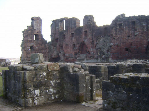 Much of the inner structure of Penrith Castle can still be clearly seen