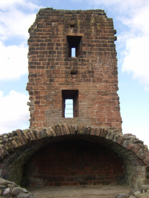 The Red Tower at Penrith Castle