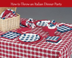 How to Throw an Italian Dinner Party