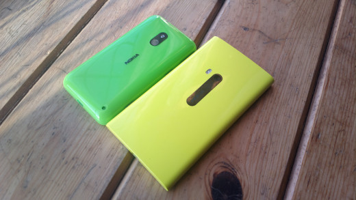 The Green 620 & Yellow 920 Together