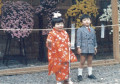 Japanese  Children in Traditional Kimonos