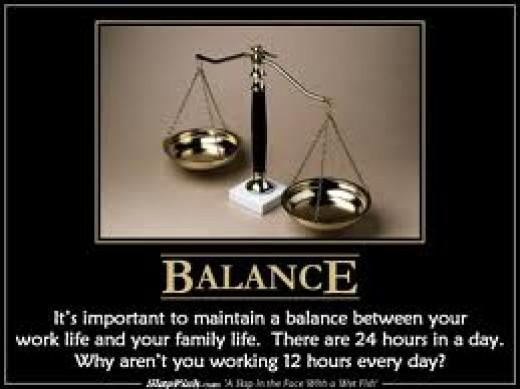 Everyone wants to achieve Balance