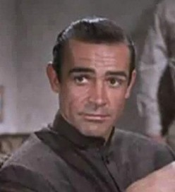 Sean Connery acting in the first James Bond movie DR NO which was filmed in Jamaica.