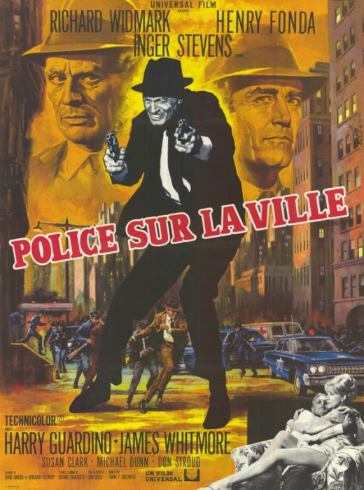Madigan (1968) French poster