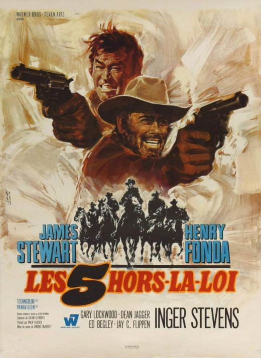 Firecreek (1968) French poster