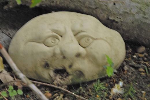 Little garden creatures add a little humor to the garden