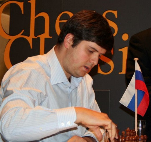 Peter Svidler, public domain photo