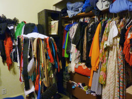 Cleaning out a closet isn't as scary as you might think.