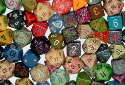 Types of Dice by Number of Sides