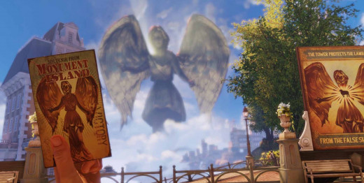 Bioshock Infinite Get to the Monument Island