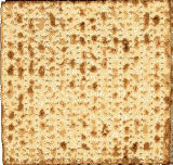 Matzos are striped and pierced, without yeast (sin)...a complete representation of Jesus.