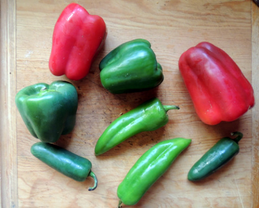 gather your peppers