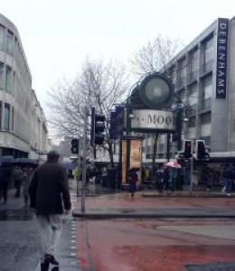 Sheffield in the rain