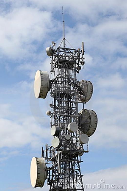 Microwave mast