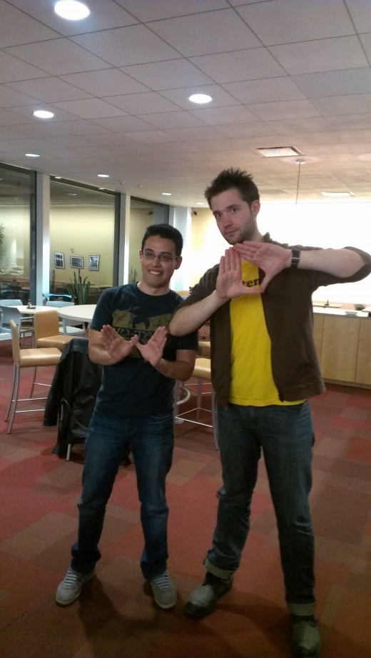 John Ruiz arranged for some of Kansas City's fledgling tech entrepreneurs to meet reddit co-founder Alexis Ohanian.