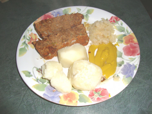 Photo: Tasty Vegetarian Meatlof