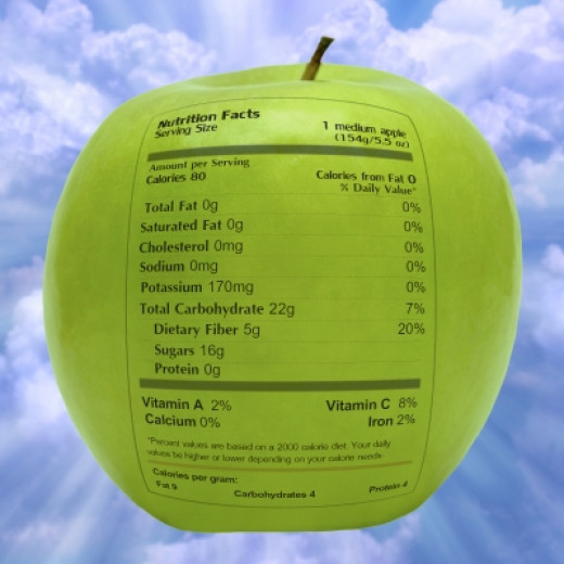 Always read the label to make sure that a fruit snack actually contains fruit