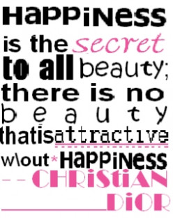 Dior highlights an important yet often overlooked aspect of true beauty in this inspiring quote