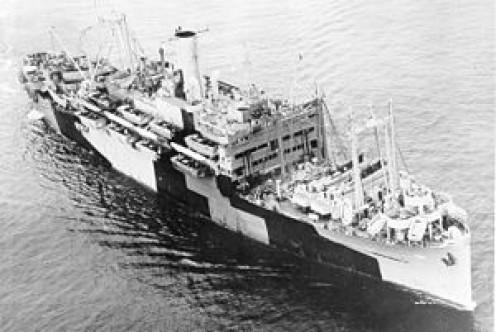 USS Coast Guard Leonard Wood