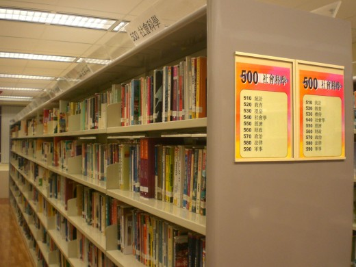 Libraries can be a great place to research!