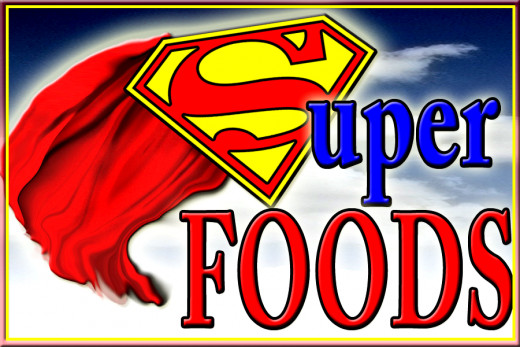 Superfoods can save your life and longevity!