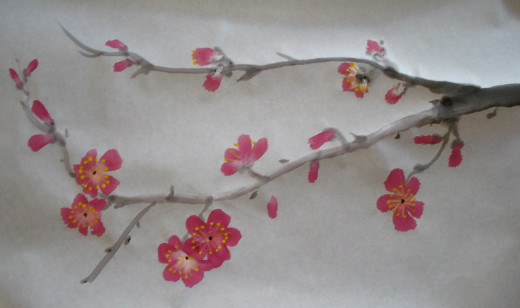 4. Another Way to Paint Plum Blossom