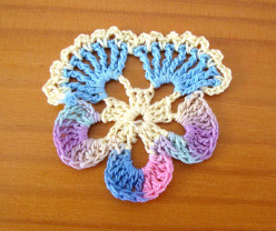 How to Make a Crocheted Pansy