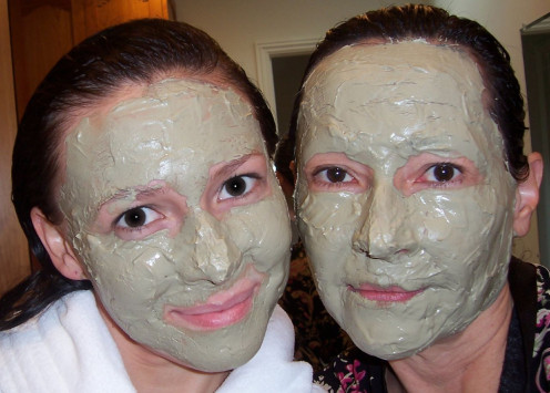 make your own wonderful mud mask treatment.