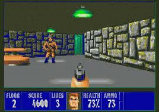 Wolfenstein 3D is one of the best first person shooters ever and it first came out on computers before moving to gaming consoles.